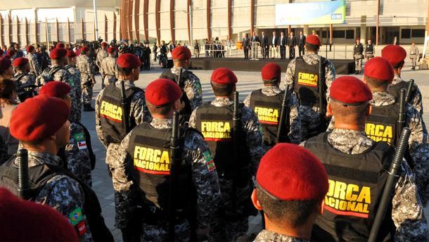 Edital de seleção de 7 mil PMs aposentados para Força Nacional deve sair na próxima terça