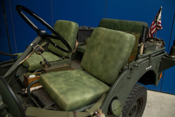 Carro do leitor: Willys CJ-3A 1951