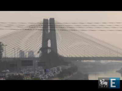 Marginal Tietê ganha ponte estaiada