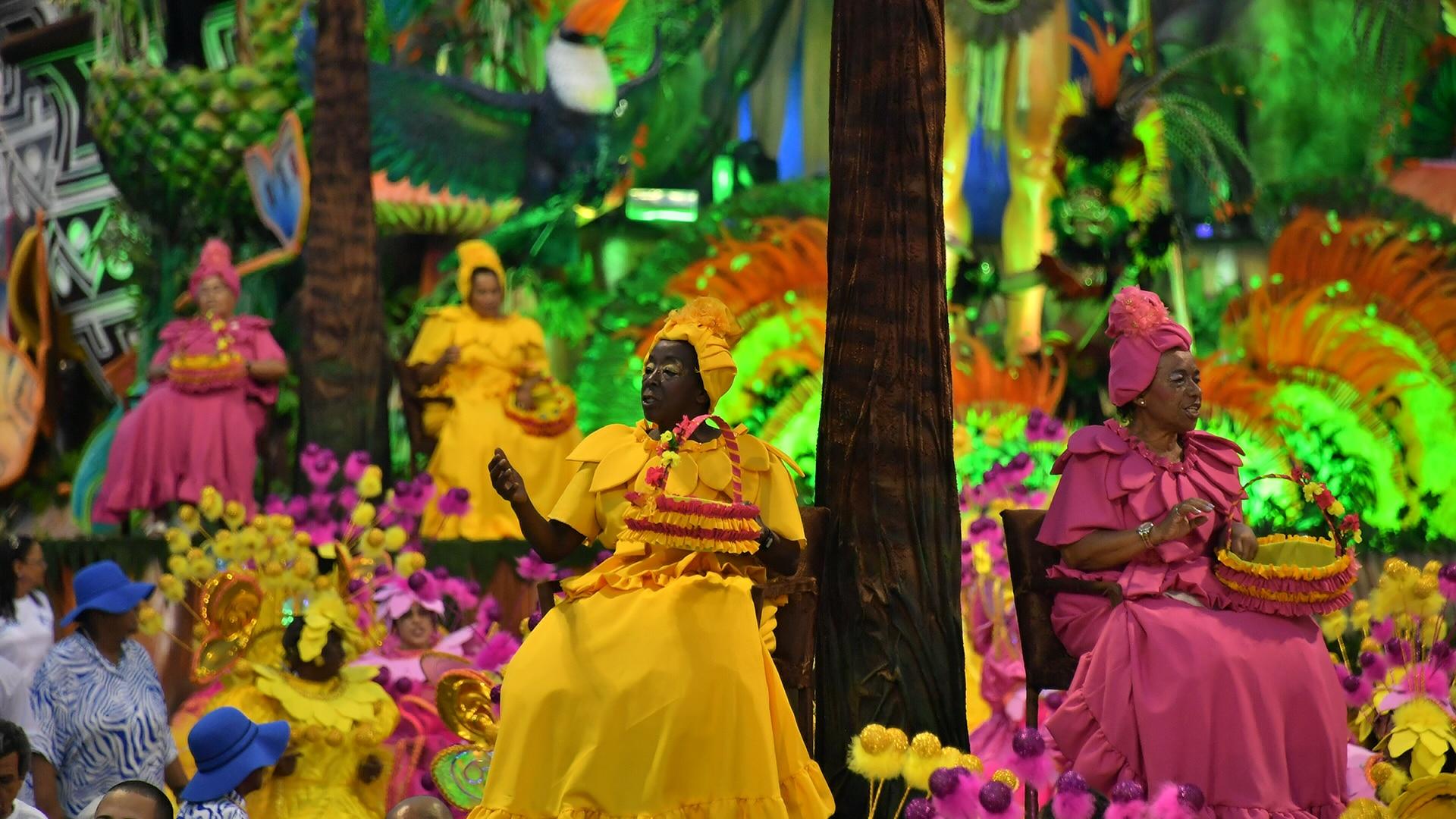 Veja os melhores momentos do desfile da Nenê de Vila Matilde