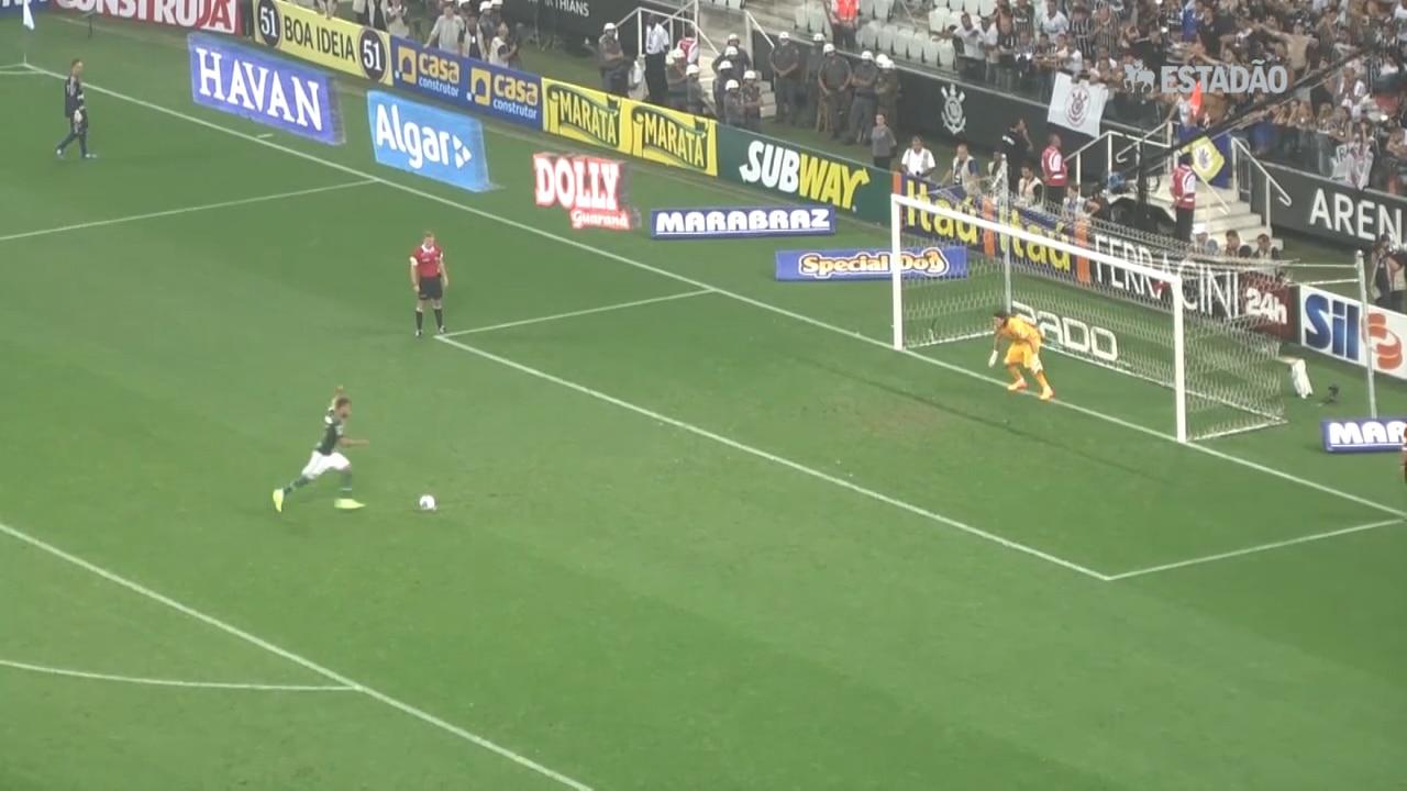 Palmeiras bate Corinthians nos pênaltis e vai à final