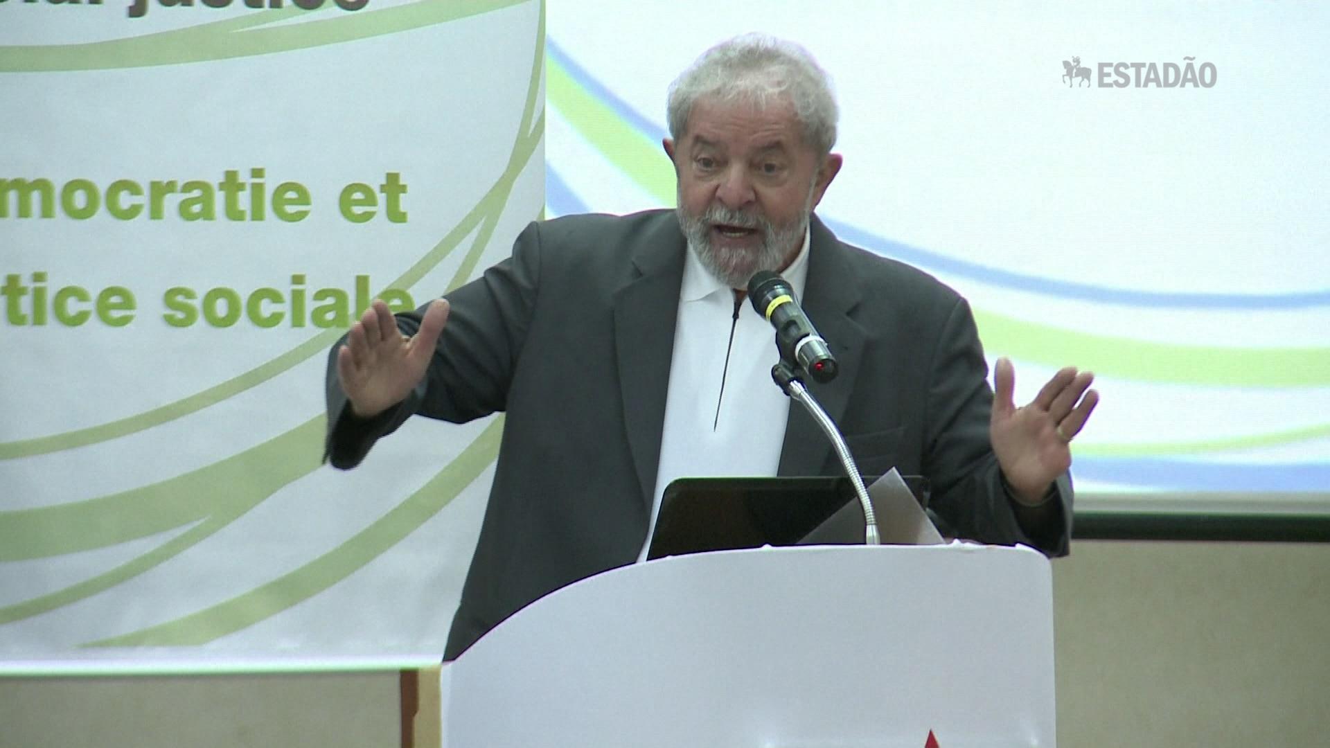 Lula diz que vai haver 'combate democrático'