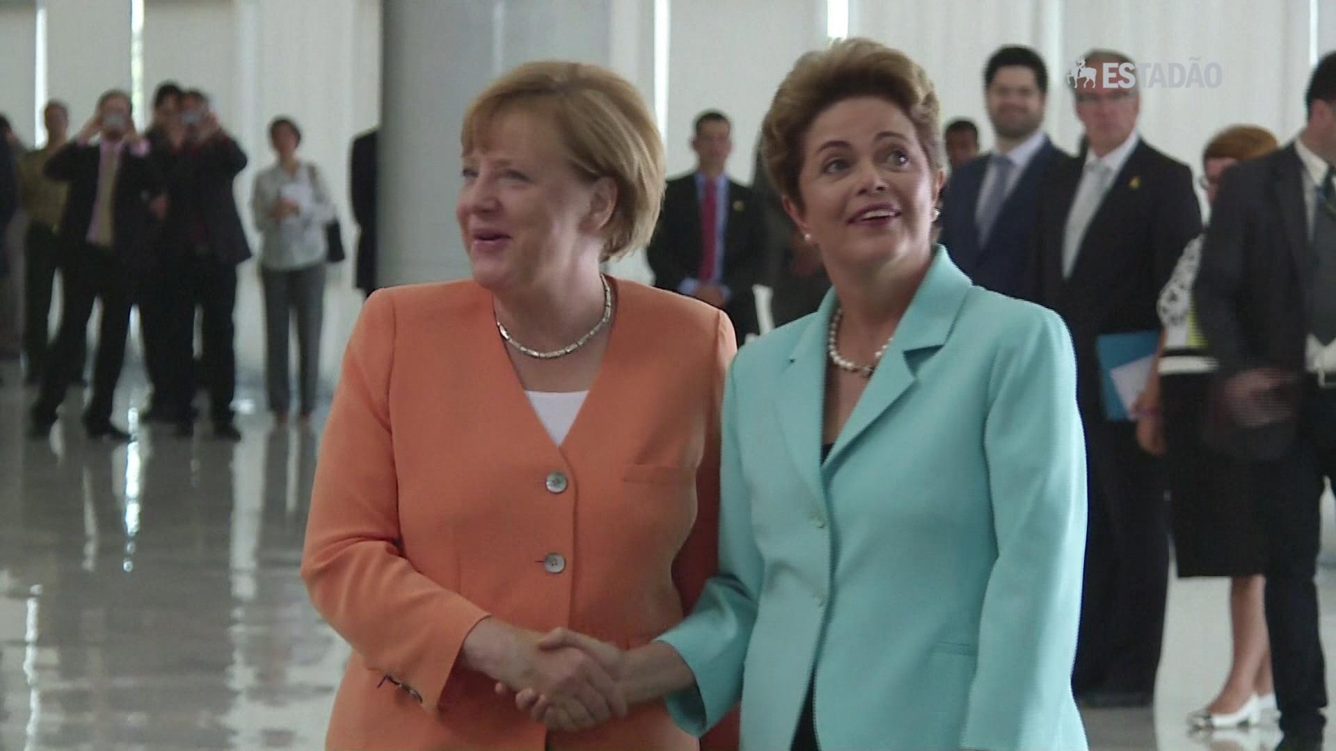 Merkel diz que Brasil é a chave para a biodiversidade mundial