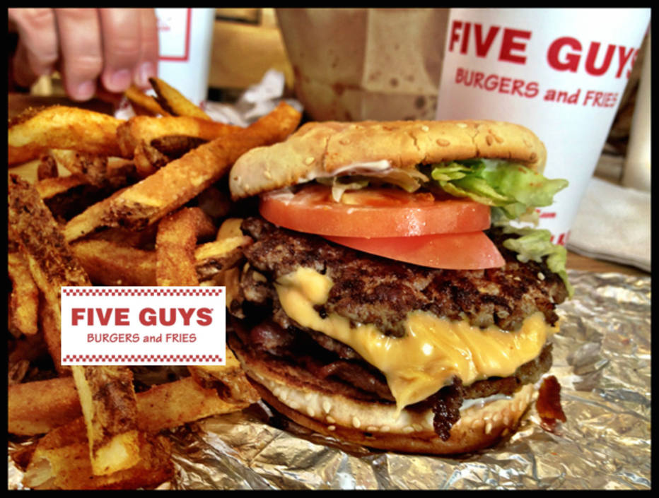 Five Guys Hot Dogs Nutrition