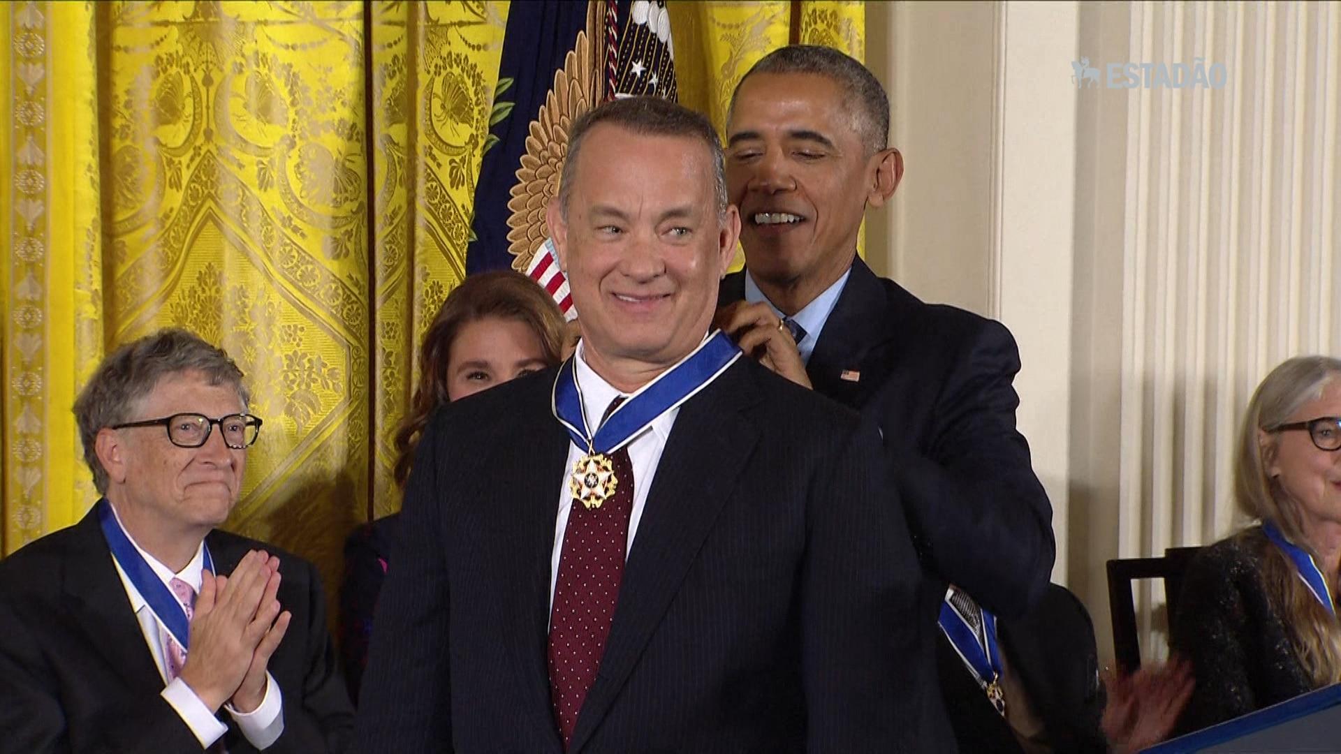 Personalidades recebem Medalha da Liberdade na Casa Branca