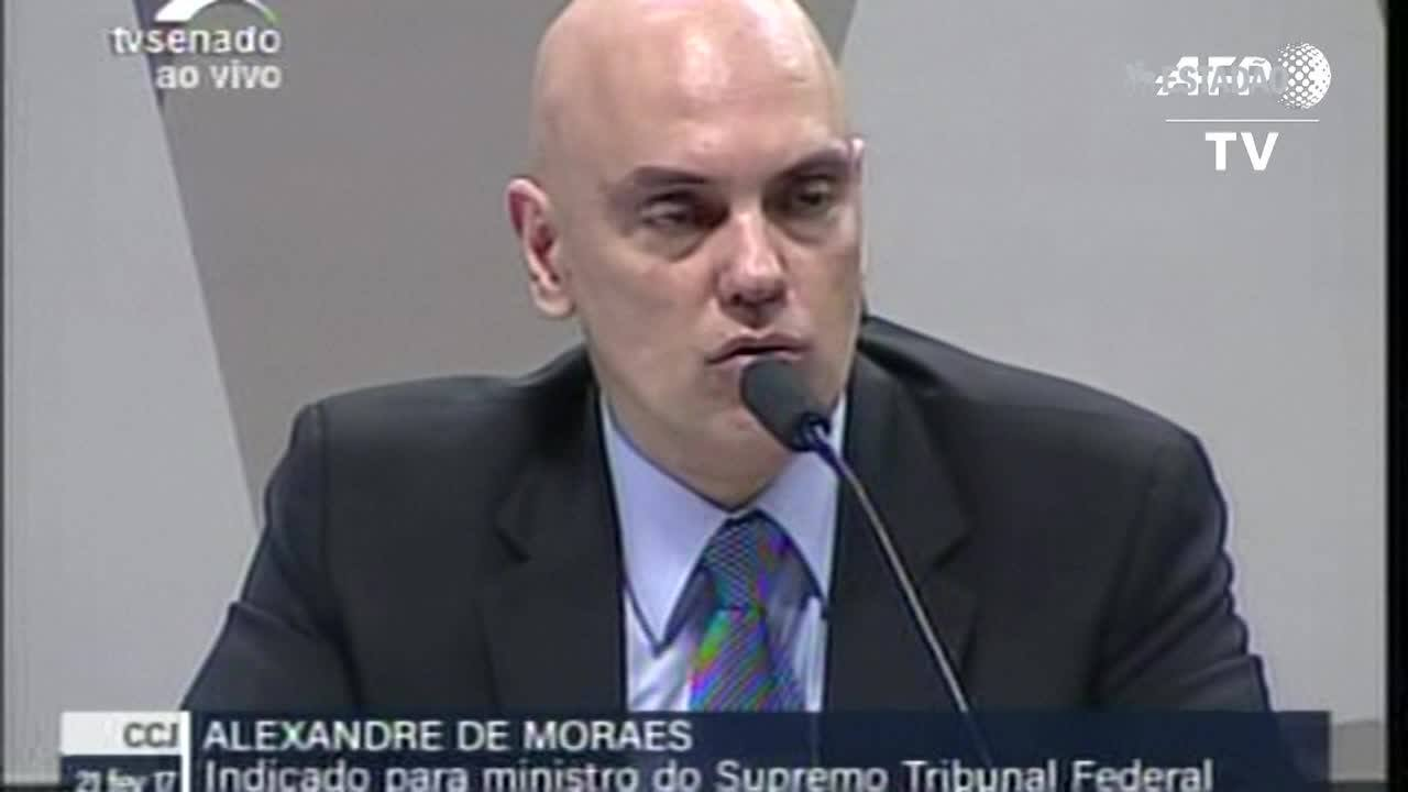 CCJ aprova a indicação de Alexandre de Moraes para o STF