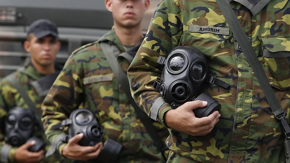 Nesta segunda-feira, 30 homens realizam, a partir de 15 horas, um exercício de combate ao terrorismo na área do Mané Garrincha