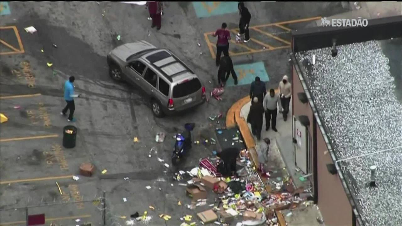 Baltimore declara toque de recolher e chama Guarda Nacional