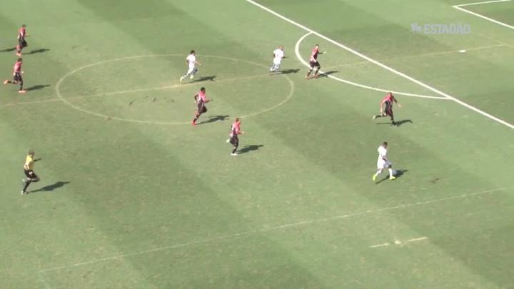 Santos bate o Joinville por 2 a 0; Veja os gols