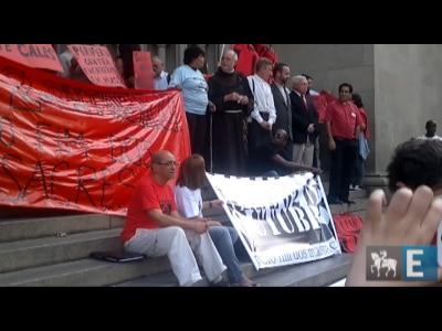 Manifestação na Sé lembra 20 anos do massacre no Carandiru