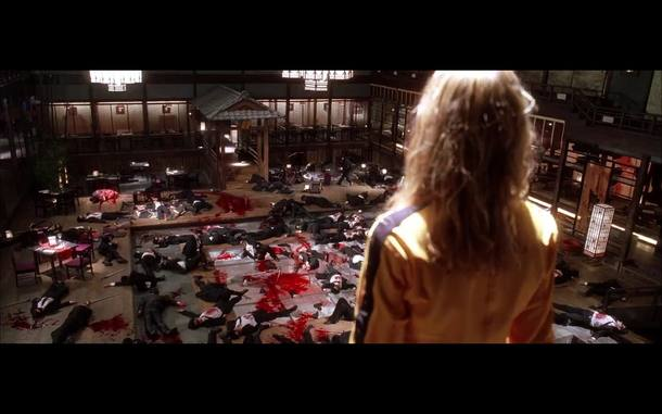 1.º - 'Kill Bill – Vol. 1 e 2', Quentin Tarantino, 2003 e 2004