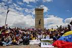 Protestos pelo mundo contra Nicolás Maduro
