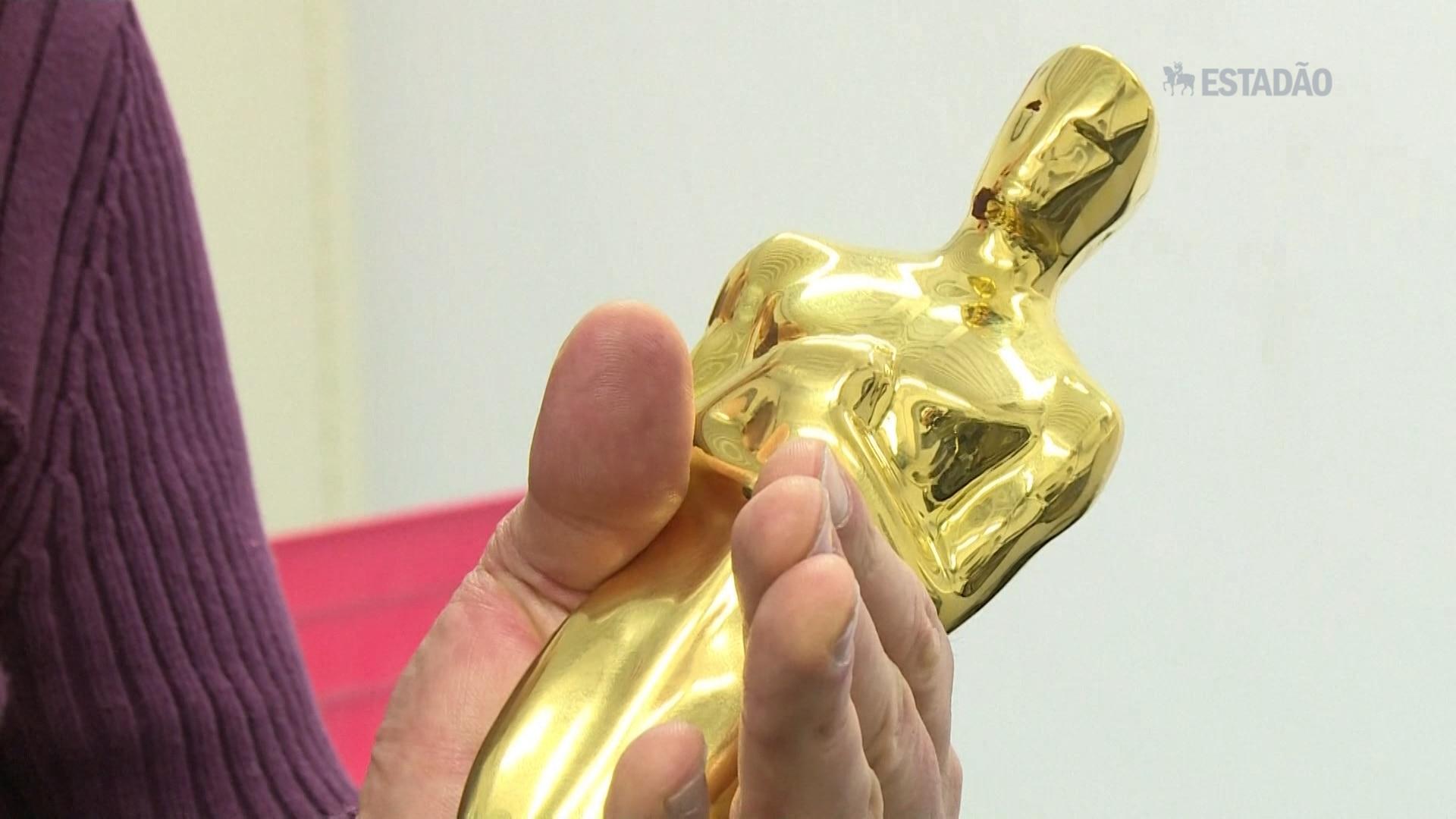 Como é feita a estatueta do Oscar