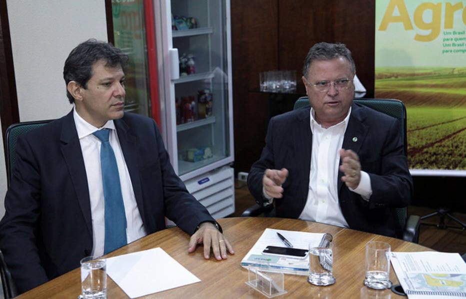 Resultado de imagem para Ministro Maggi recebe projeto de mudança da Ceagesp