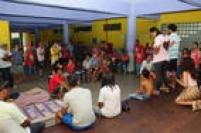 Escola Estadual Cohab Inácio Monteiro, em Cidade Tiradentes, na zona leste, foi ocupada por estudantes e por integrantes do Movimento dos Trabalhadores Sem-Teto (MTST)