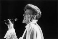 Show do cantor inglês David Bowie em 1990 em São Paulo