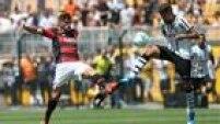 Flamengo e Corinthians empatam por 2 a 2 no tempo normal; campeão édefinido nos pênaltis