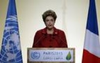 A presidente Dilma Rousseff discursou na abertura da COP 21 e falou sobre Mariana:'A ação irresponsável de empresas provocou o maior desastre ambiental na história do Brasil na grande bacia hidrográfica do Rio Doce'