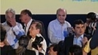 A ideia dos tucanos é mostrar que o partido começa oficialmente esta corrida à Presidência da República unido. A presença de Serra é simbólica para mostrar essa unidade.
