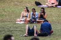 Público espera a apresentação da banda Maglore no festival Lollapalooza 2016 no Autódromo de Interlagos