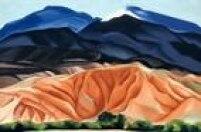 A grande pintora norte-americana Georgia O'Keefe, autora de'Paisagem de Black Mesa, Novo México/Sertão de Marie II' (1930), também está representada na mostra 'Paisagem nas Américas', que depois de apresentada no Canadá e nos EUA chega à Pinacoteca do Estado, na Praça daLuz em São Paulo