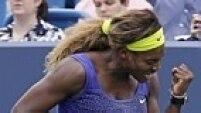 No feminino, Serena Williams enfim levantou o seu primeiro troféu em Cincinnati.