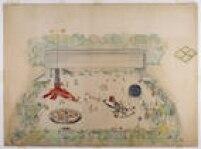 O histórico desenho'Belvedere', da arquiteta ítalo-brasileira Lina Bo Bardi, autora do edifício do Masp,também é um dos destaques da mostra 'Playgrounds', queu ocorrerá entre 17/3 e 31/7 no museu localizado na Avenida Paulista