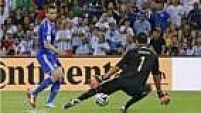 Aos 38 minutos, a Bósnia marcou um gol de honra, o primeiro da seleção em Copas.