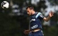 Zagueiro sentiu dores na perna direita durante o treino de terça-feira