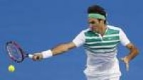 Roger Federer superou o georgiano Nikoloz Basilashvili na estreia