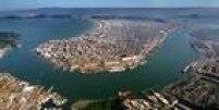O preço médio do metro quadrado em Santos é deR$ 4.986, variação de 4,18% no acumulado de 2015