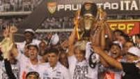 O Santos se sagrou campeão pela 22ª vez do Campeonato Paulista ao vencer o Audax no jogo de volta, na Vila Belmiro, por 1 a 0