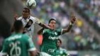 Palmeiras 0x2 Vasco foi assistido por 28.800 pagantes no Allianz Parque