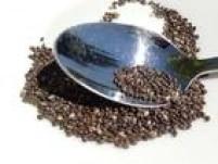 A chia é um dos alimentos recomendados pela nutricionista Salucha Dainez para o bronzeamento