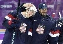 No hóquei, os EUA superaram a Rússia numa final polêmica. A arbitragem anulou um gol da Rússia a menos de 5 minutos do fim do jogo, levando a decisão para um shootout, no qual T.J. Oshie garantiu a vitória dos americanos.