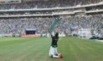 Com gol de Leandro Pereira, o Palmeiras saiu na frente na final do Paulistão ao fazer 1 a 0 em cima do Santos, no Allianz Parque
