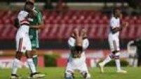 Centurión lamenta grande chance desperdiçada no clássico com o Palmeiras
