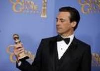 Não deu dessa vez para o Wagner Moura.Jon Hamm, da sérieMad Men, vence por seu papel como o publicitárioDonald Draper