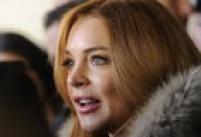 Durante anos Lindsay ostentou lábios carnudos e inchados, como na foto, em 2014.