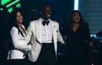 Tyrese Gibson (C), Meghan Trainor eDemi Lovato fizeram parte do tributo a Lionel Richie