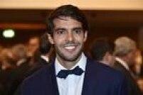 Último brasileiro a receber o prêmio de melhor o mundo, Kaká marcou presença no evento da Fifa.