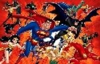 Concorrente da Marvel, a DC Comics (da Time Warner) também tem o seu elenco de personagens famosos, como Flash, Batman e Superman.