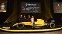 Com amarelo predominante, Renault revela pintura definitiva do carro R.S.16