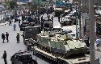 Marinha do Brasil mobilizou seis tanques do modelo M113