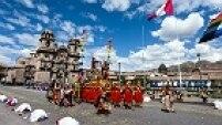 Celebração chega a Huacaypata, coração de Cusco
