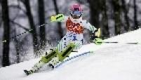 No slalom, a brasileira Maya Harrison ficou em 39.º e não sabe se vai participar da Olimpíada de 2018. O ouro na prova ficou com Mikaela Shiffrin.