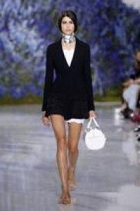 Desfile da grife Dior na Semana de Moda de Paris, na sexta-feira, 2 de outubro