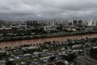 Segundo meteorologista do Climatempo, a chuva volumosa era esperada desde o início da semana