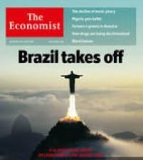 Na edição de 12 de novembro de 2009, a Economist afirmou que o Brasil, que era só promessas, tinha começado a dar resultados;<a href='http://economia.estadao.com.br/noticias/geral,brasil-decola-e-pode-ser-a-5-economia-diz-economist,465559' target='_blank'>clique e saiba mais</a>
