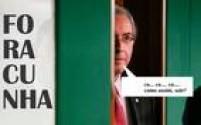 Este meme mostra Cunha atrás de uma porta questionando com surpresa a decisão de Zavascki. Ele atende a um pedido da Procuradoria-Geral da República (PGR) feito ainda no fim do ano passado, que alega que Cunha usou o cargo para interferir nas investigações da Operação Lava Jato, da qual ele é alvo.